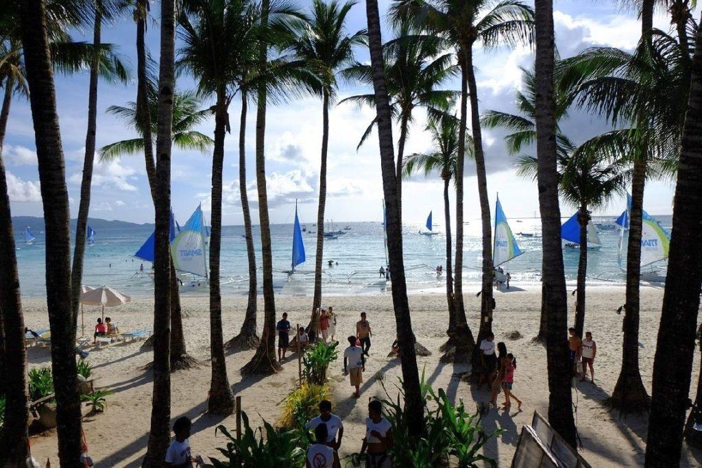 Insel Boracay Philippinen